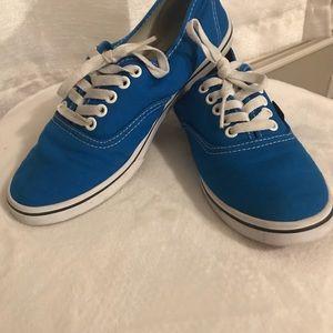 Blue Vans Authentic Lo Pro